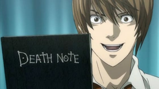 "Find out what ""Death Note"" (anime) character you are! (Most main characters only)."