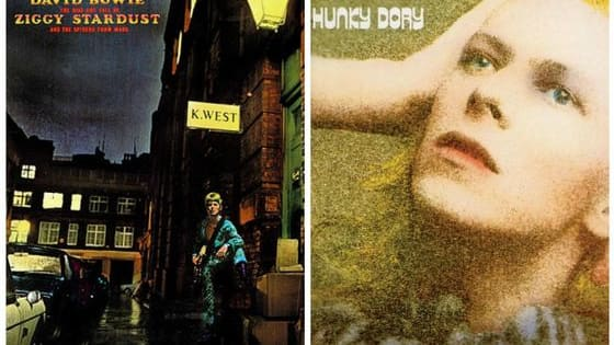Bowie was as iconic for his visual art as he was for his music. Here are his 7 most iconic album covers!