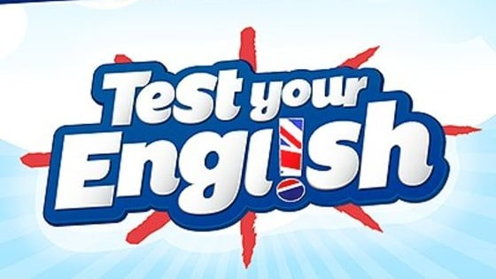 Test your English skills now.