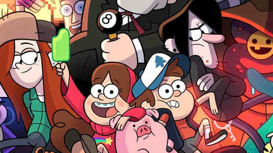 "Let's see which character you are from the Disney show ""Gravity Falls""!"