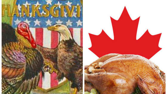 Thanksgiving is a holiday primarily celebrated in Canada and the U.S.A. Can you identify the different histories and traditions belonging to each country?