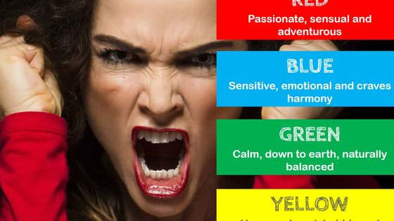 This definitive test will reveal the color-psychology behind your anger.