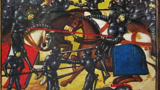 Between 1455 and 1487, England suffered through a civil war as the Houses of York and Lancaster fought for the royal throne. Many battles were fought - do you know when?
