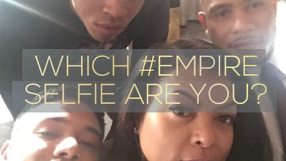 Take the quiz to find out which Empire selfie best fits Your personality! Please share your thoughts in the comment section below. Thank you! http://tinyurl.com/hc3phxb