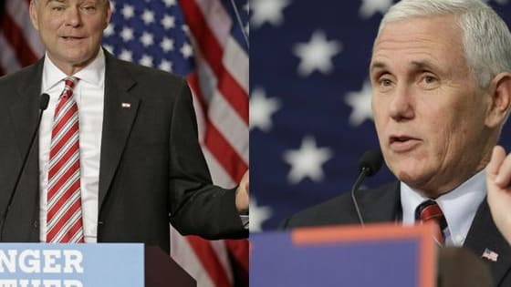 With some online polls giving the edge to Mike Pence, this one might be to close to call. Have your say here!