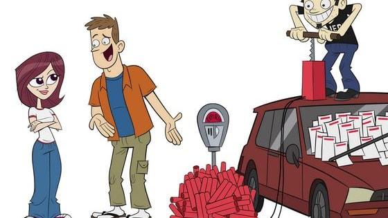 "Another ""Who said it"" challenge between Bender Rodriguez of Futurama and Dan of Dan Vs"