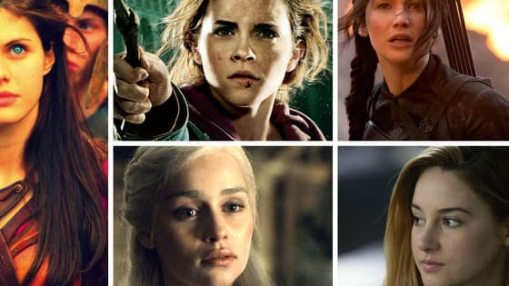 Are you the half blood-Annabeth, the Mockingjay-Katniss, the divergent-Tris, the dragon-Daenerys or the wizard-Hermione?