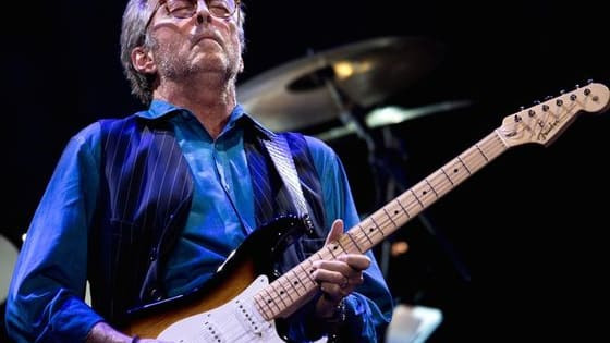 """Eric Clapton is one of the greatest guitarists of all time. He is known as """"slowhand"""" and some have even called him """"God."""" Now is the time to vote for your favorite songs and watch some great videos too. Be sure to vote and then Like our page. http://www.facebook.com/NamethePlayer"""