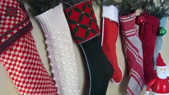 You don't need a Fireplace to hang those pretty stockings, try these ideas.