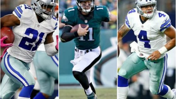 A lot of the rookies from the 2016 NFL draft class have made a big, immediate impact around the league in the 2016-17 season. The class is headlined by two young, talented gun-slingers (not the two you would've guessed before the draft) and the league's leading rusher.   Cast your vote for your favorite to win the 2017 NFL Offensive Rookie of the Year award and be sure to share this poll!