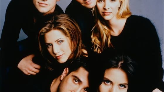 "Vote your favourite character on ""Friends""."