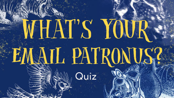Email, email, email—it's almost magical how much gets done! Take our fun quiz to find out what kind of patronus represents you and your email style.