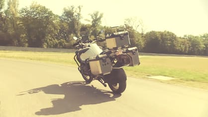 Do you think technology can dangerously reduce the need for skill in motorcycling?