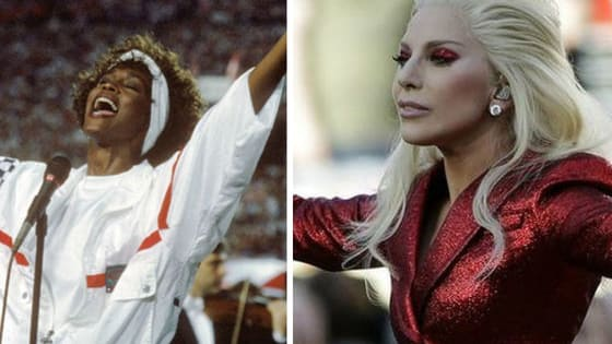 Who sang the National Anthem better? (listen to both National Anthem performances bellow)