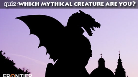 We're all familiar with most of the planet's wonderful wildlife by now, but what about those creatures who are shrouded by myth and steeped in mystery? Find out which one you are: