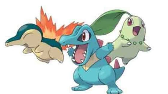 Today you will find out if your getting Chikorita, Cyndaquil or Totodile!