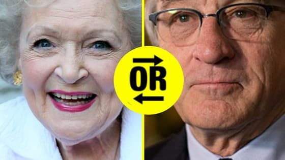 Which famous old person is exactly like you?!