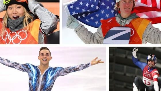 These early Olympic stars have captured America's heart. See which one you are most like!