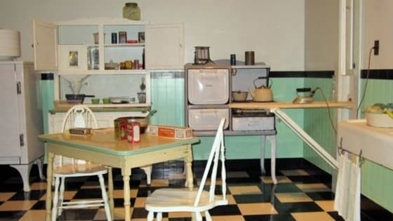 Can you guess which era these kitchens are from? Take the quiz!
