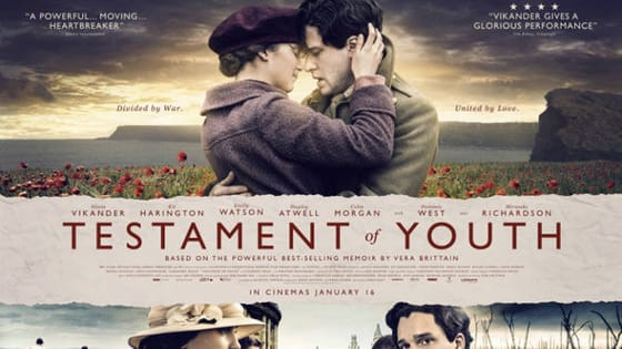 Testament of Youth is one of the most beautifully put together and eye opening movie. Yet you hear almost nothing about this amazing movie.