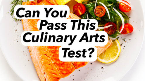 Only the best chefs in the world can pass this test. Can you compete with the likes of Gordon Ramsay?