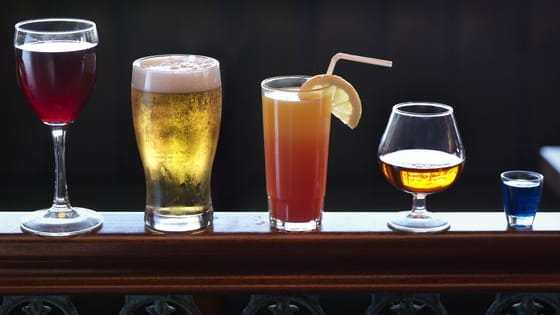 Take our quiz to see how these boozy tipples match up to popular snacks when it comes to calories.  You may well be surprised...