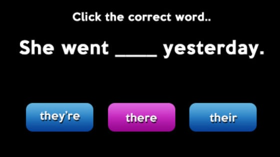 We'll give you tricky sentences. See if you can pick the correct word!