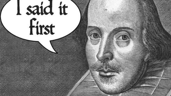 A little trivia to test your knowledge of the different words Shakespeare added t our vocabulary.