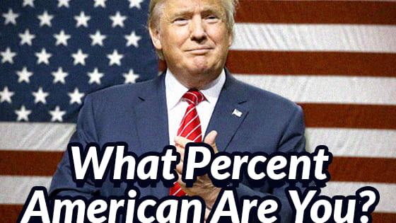 Answer these 7 questions and find out how American are you!