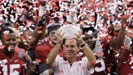 Alabama has won 5 National Championships under Nick Saban, now see if you can match these facts to the championship team!