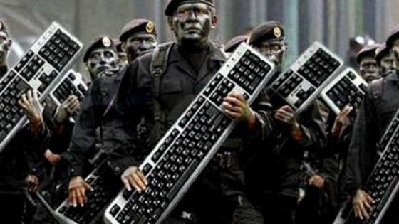 The government has hired you as a 'keyboard warrior'. Where will you fit in?