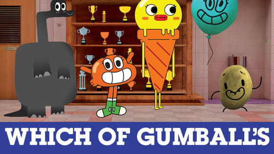 Answer these five questions to find out which one of Gumball's friends you truly are!