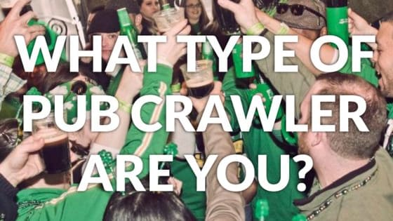 Let's find out what kind of drunk the Irish Pub Challenge should expect from you...