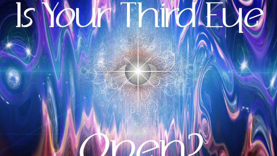 Is your third eye open and sending you messages? Or are you totally closed off to divine information?