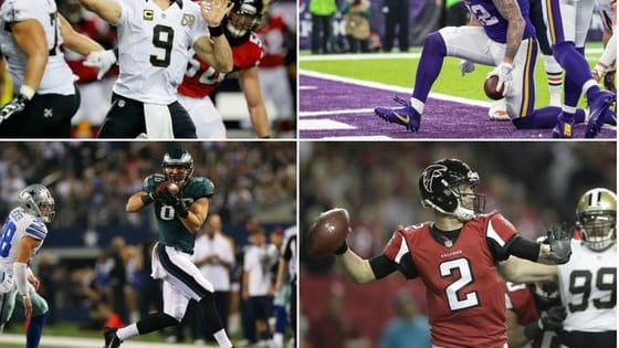 The regular season has come to an end! Vote for the top quarterback, running back and wide receiver performances of the final week of the season. Let us know which players impressed you the most in Week 17 and check out the results on bestnflpolls.com!