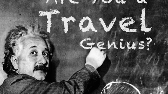 A travel quiz for travel geniuses only. Are you a certified Travel Genius? Let's find out! www.tourtakers.com