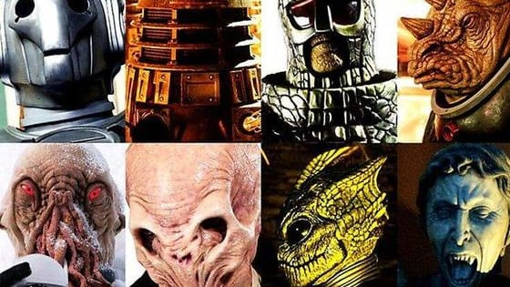 Are you a true fan of Doctor Who? Here are the Top Ten Doctor Who Villains. What do you think???