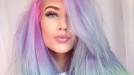 Lets see what the hair colors everybody finds pretty!