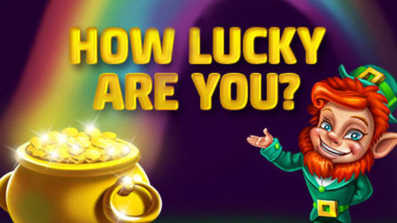 Ever wondered if you are a lucky person? Play this quiz and find out. Go Now!  http://slo.to/HowLuckyAreYou