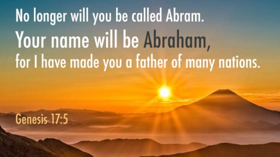 Many Bible characters had their names changed, or went by more than one name.  Do you know what their original or their new names were?