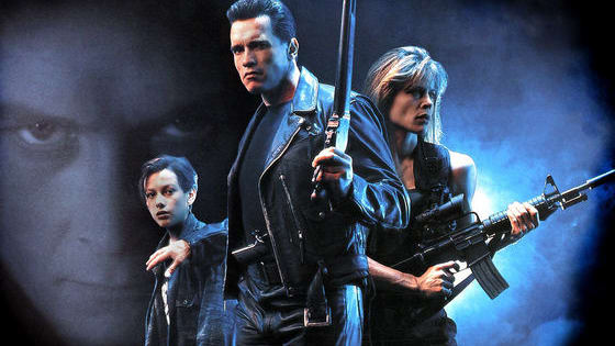 """Which character from James Cameron's epic masterpiece """"Terminator 2: Judgment Day"""" are you? Options include: John Connor, Sarah Connor, the T-1000, the Terminator, Miles Dyson, Dr. Silberman (the shrink), Tim (John's friend with the punk hair) or Enrique the hermit prepper!"""