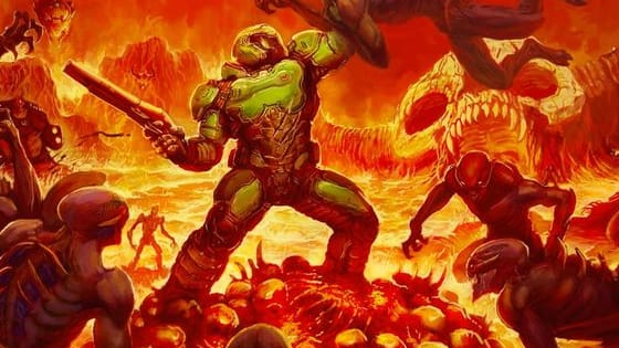 This comes from all the DOOM games so it's very open. Please comment to tell me if you liked this or not.