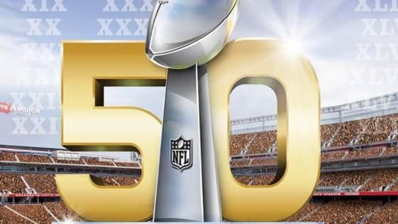 Test your knowledge about Super Bowl 50.