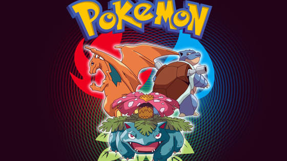 1 Pokemon for 8 different Pokemon types, all from Generation 1.