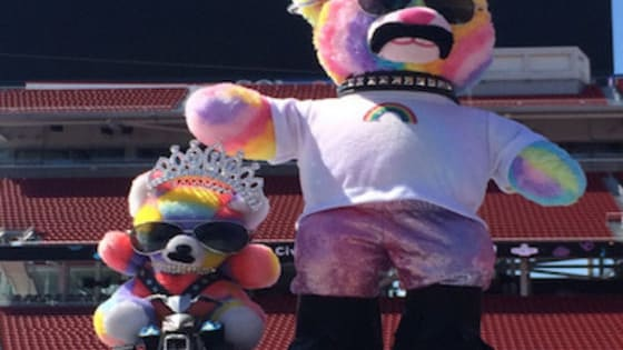 Have you ever wondered what famous Rainbow Bondage Bear outfit you'd be? Well here's your chance to find out.