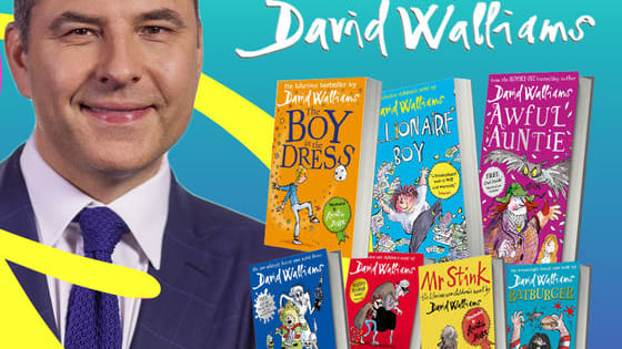 David Walliams has written so many great books! It's now time to test your knowledge of the bestselling author with these tricky questions. How many will you get correct?