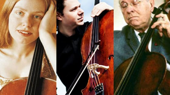 Love Bach? Love the cello? Vote now for your favorite performance of Bach's Prelude from Cello Suite # 1 in G. Every cellist, at some point in their career, embarks on the journey that is learning and performing the Bach Cello Suites. We've chosen recordings made by three different cellists to share with you to find out your favorite performance (of the three). Click to listen to each cellist perform an excerpt from the Prelude, or tune to WFMT to hear the complete performances. Then, vote for your favorite