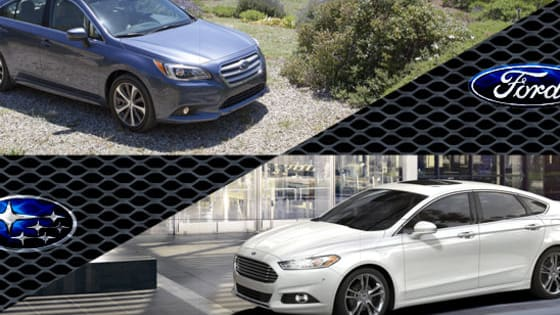 It's tough to pick a family sedan because there are so many good choices out there. Two solid offerings are the Ford Fusion and Subaru Legacy.