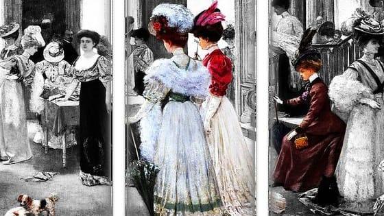 Vote for your favorite Victorian attire