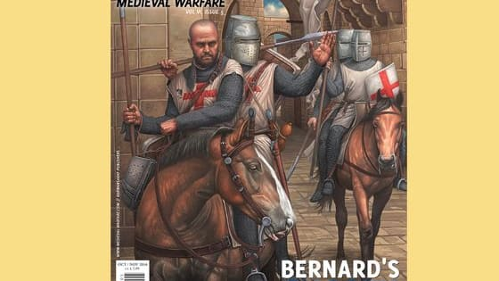 The latest issue of Medieval Warfare magazine takes a look at the Templars. How well do you know this military order?